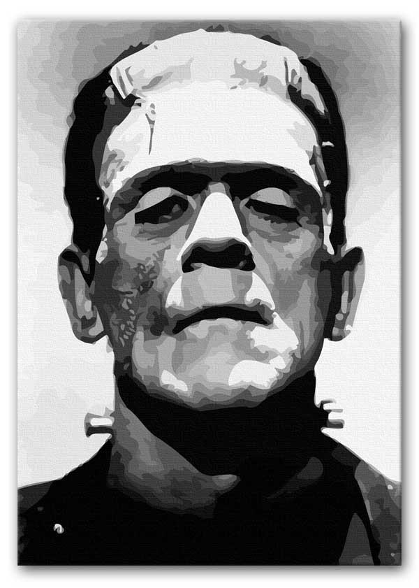 Frankenstein Canvas Print or Poster