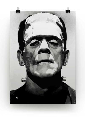 Frankenstein Print - Canvas Art Rocks - 2