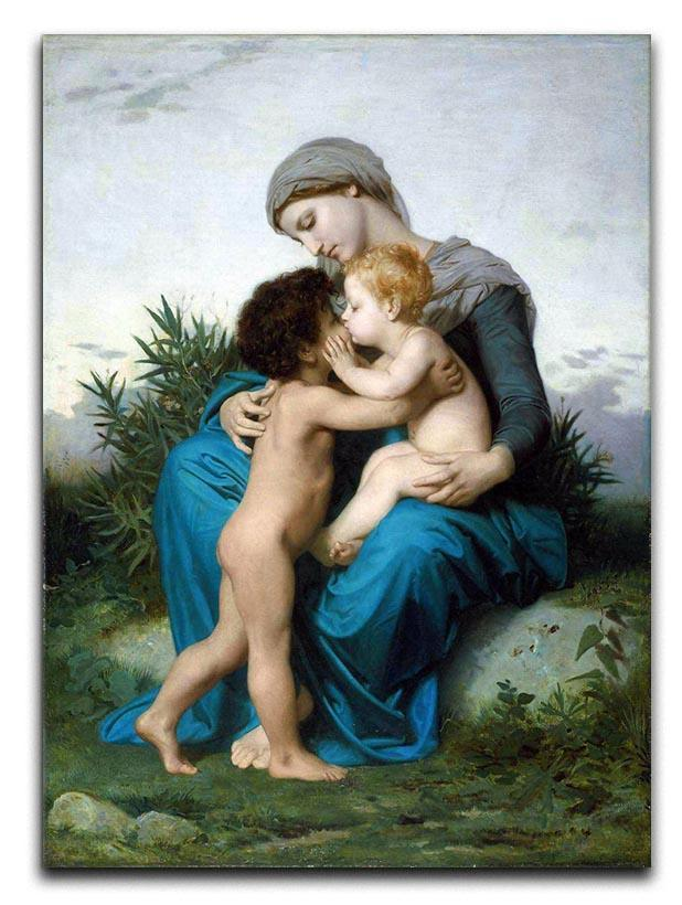 Fraternal Love By Bouguereau Canvas Print or Poster  - Canvas Art Rocks - 1