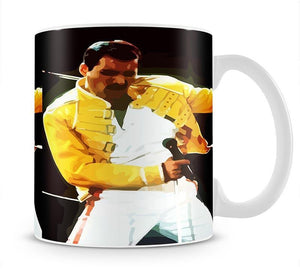 Freddie Mercury Mug - Canvas Art Rocks - 1