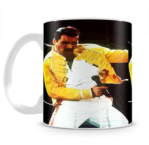 Freddie Mercury Mug - Canvas Art Rocks - 2