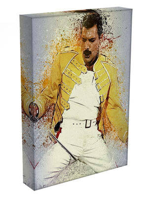 Freddie Mercury Splatter Canvas Print or Poster - Canvas Art Rocks - 3
