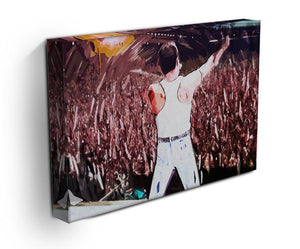 Freddie Mercury at Live Aid Canvas Print or Poster