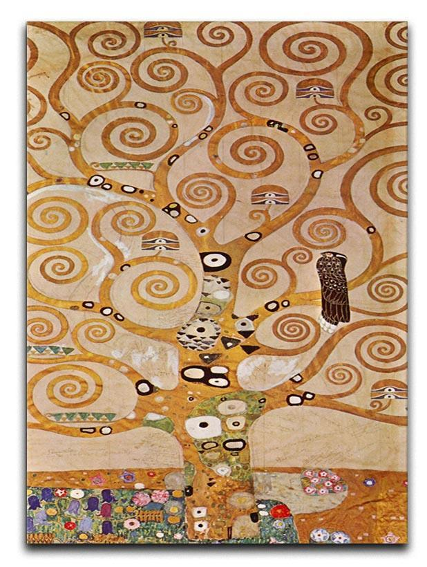 Frieze II by Klimt Canvas Print or Poster  - Canvas Art Rocks - 1