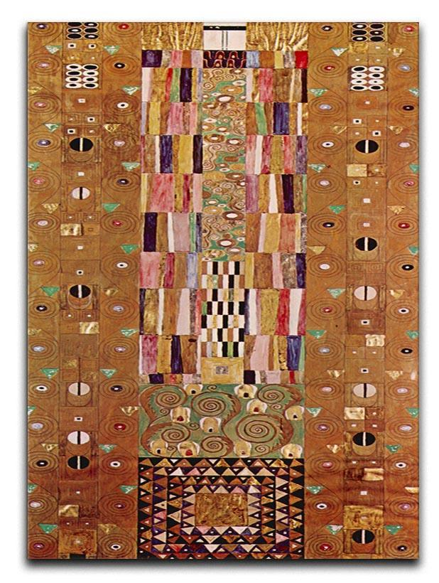 Frieze by Klimt Canvas Print or Poster  - Canvas Art Rocks - 1