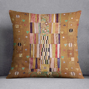 Frieze by Klimt Throw Pillow