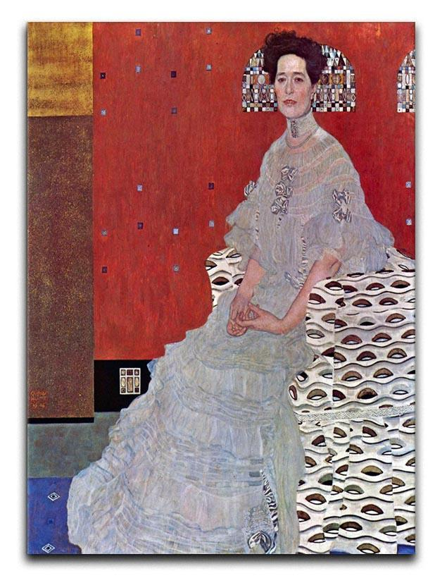 Fritza Reidler Klimt Canvas Print or Poster  - Canvas Art Rocks - 1