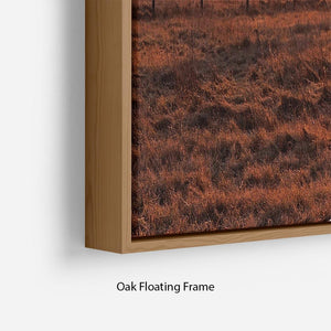 Frosty Morning Floating Frame Canvas - Canvas Art Rocks - 10
