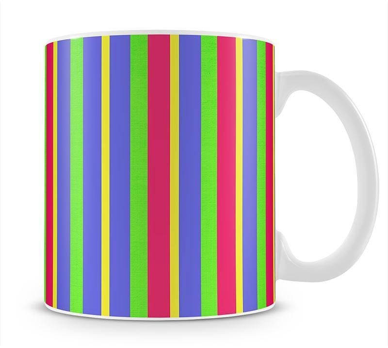 Funky Stripes Multi Mug - Canvas Art Rocks - 1