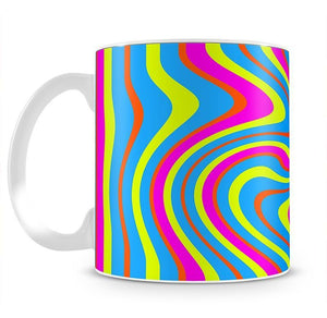 Funky Stripes Swirl 2 Mug - Canvas Art Rocks - 2