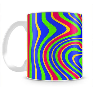 Funky Stripes Swirl 3 Mug - Canvas Art Rocks - 2