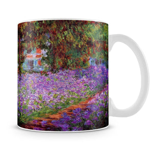 Garden in Giverny by Monet Mug - Canvas Art Rocks - 4
