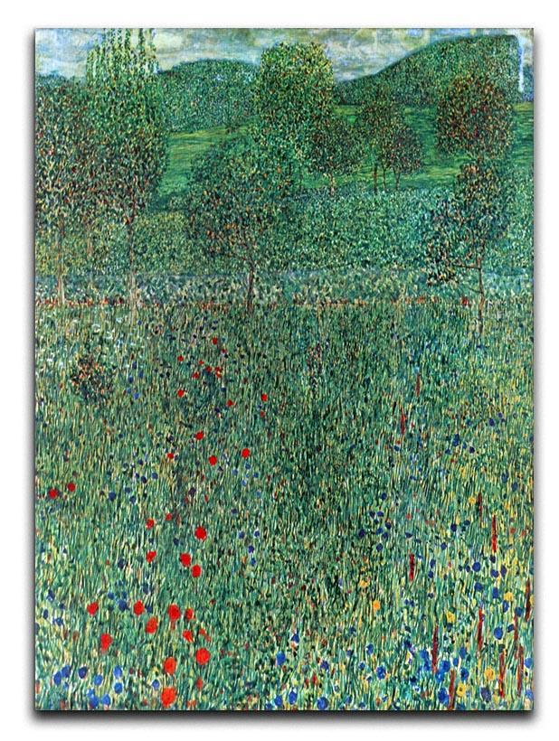 Garden landscape by Klimt Canvas Print or Poster  - Canvas Art Rocks - 1