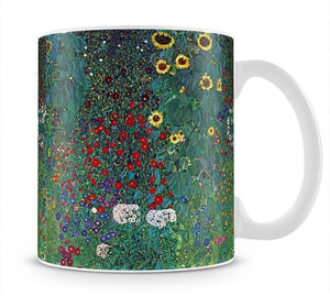 Garden with Crucifix 2 by Klimt Mug - Canvas Art Rocks - 1