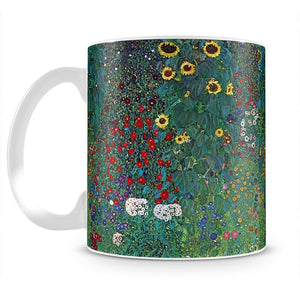 Garden with Crucifix 2 by Klimt Mug - Canvas Art Rocks - 2