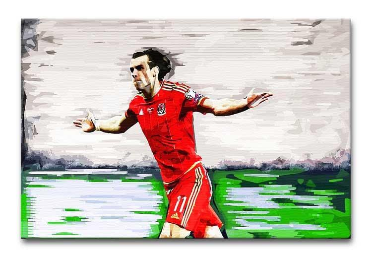 Gareth Bale Print - Canvas Art Rocks - 1