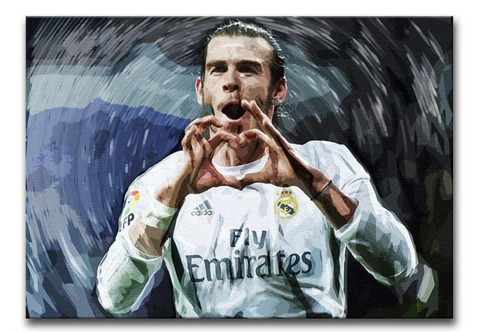 Gareth Bale Real Madrid Canvas Print or Poster