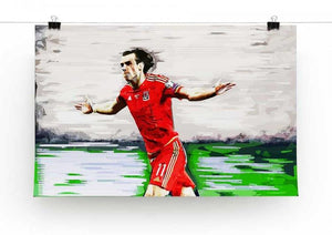 Gareth Bale Print - Canvas Art Rocks - 2