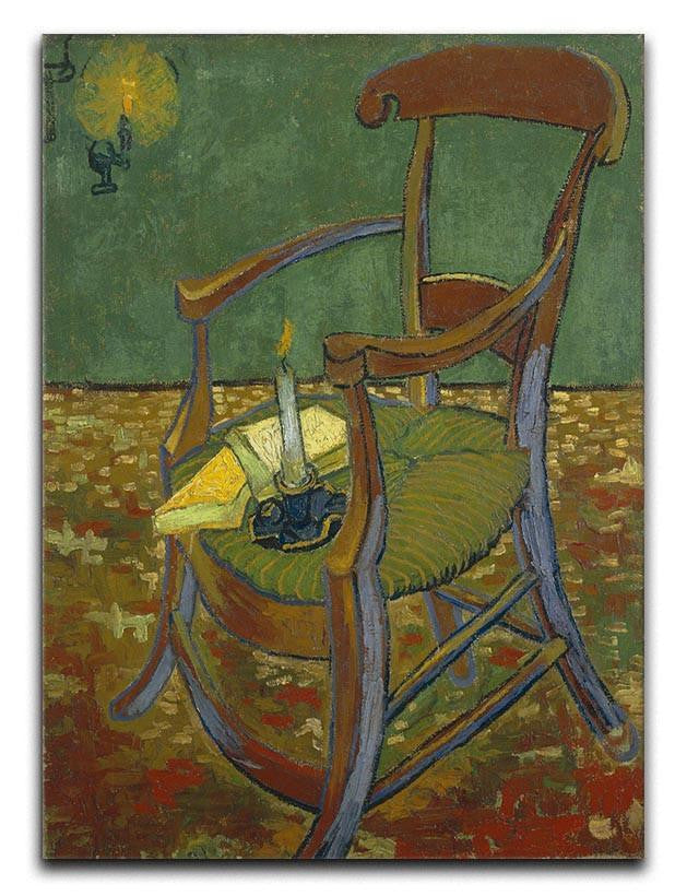 Gauguins chair by Van Gogh Canvas Print or Poster