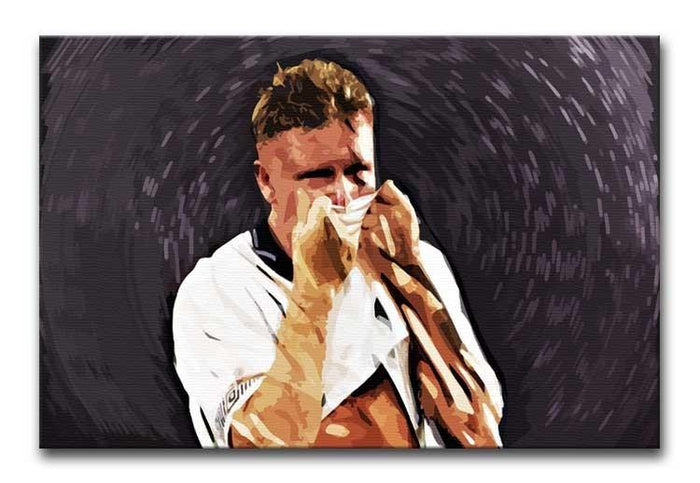 Gazza Tears at Italia '90 Canvas Print or Poster