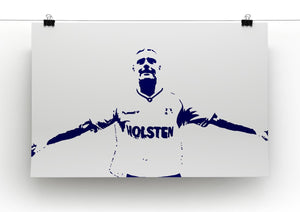 Gazza Print - Canvas Art Rocks - 2