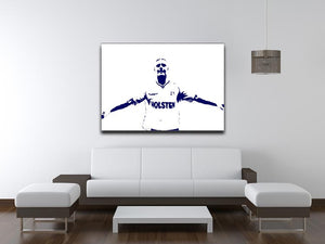 Gazza Print - Canvas Art Rocks - 4