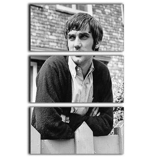 George Best in 1968 3 Split Panel Canvas Print - Canvas Art Rocks - 1