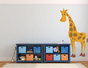 Giraffe Wall Decal - Canvas Art Rocks - 1
