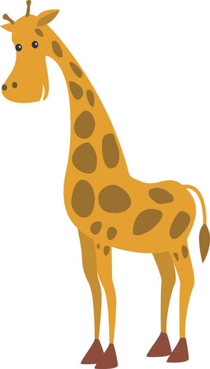 Giraffe Wall Decal - Canvas Art Rocks - 2