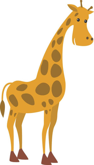 Giraffe Wall Decal - Canvas Art Rocks - 3