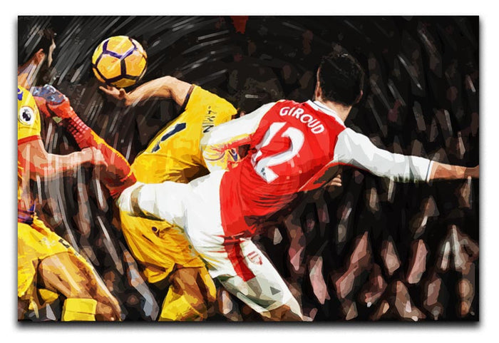 Olivier Giroud Scorpion Kick Canvas Print or Poster