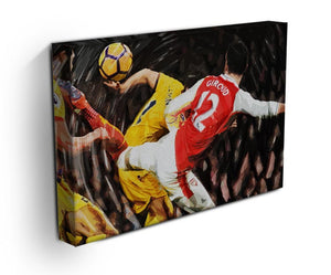 Olivier Giroud Scorpion Kick Print - Canvas Art Rocks - 3