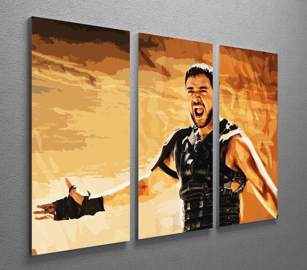 Gladiator 3 Split Panel Canvas Print | Canvas Art Rocks