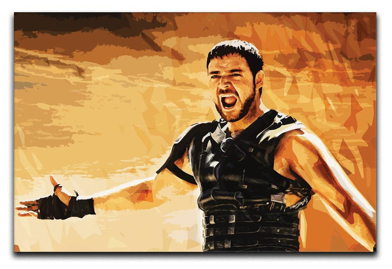Gladiator Print - Canvas Art Rocks - 1