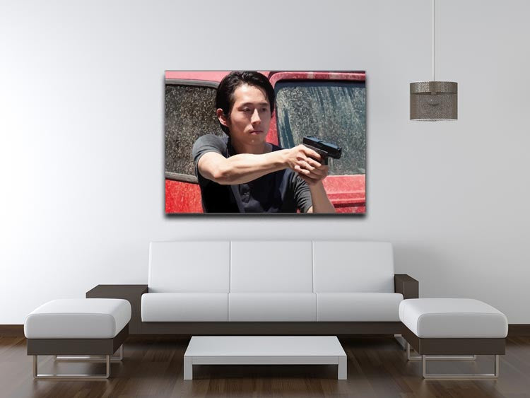Glenn The Walking Dead Print - Canvas Art Rocks - 4