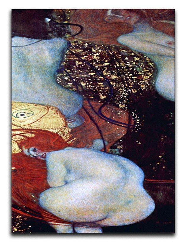 Goldfish by Klimt Canvas Print or Poster  - Canvas Art Rocks - 1