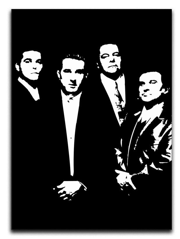 Goodfellas Black or White Canvas Print or Poster