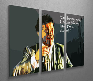 Goodfellas Funny Guy 3 Split Panel Canvas Print - Canvas Art Rocks