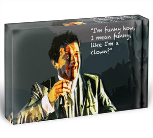 Goodfellas Funny Guy Acrylic Block - Canvas Art Rocks - 1