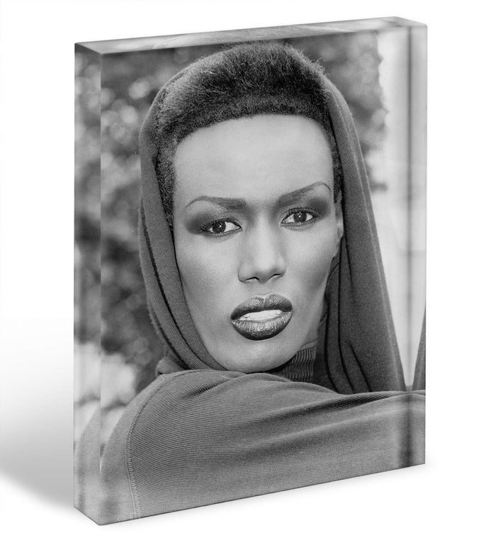 Grace Jones in style Acrylic Block