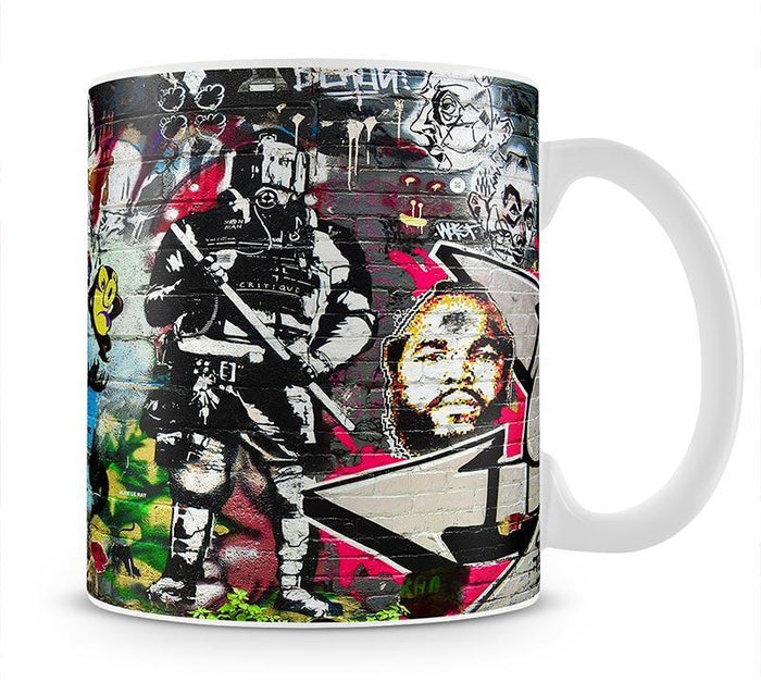 Graffiti Wall Abstract Mug