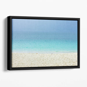 Grand Anse Bay Grenada Floating Framed Canvas