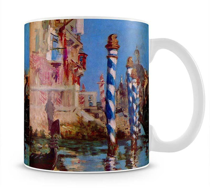 Grand Canal in Venice by Edouard Manet Mug