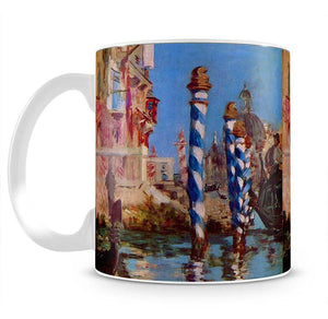 Grand Canal in Venice by Edouard Manet Mug - Canvas Art Rocks - 2