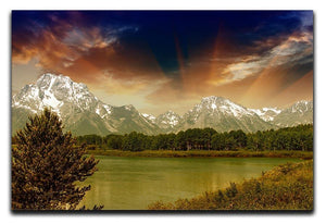 Grand Teton National Park Canvas Print or Poster  - Canvas Art Rocks - 1