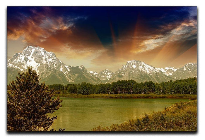 Grand Teton National Park Canvas Print or Poster