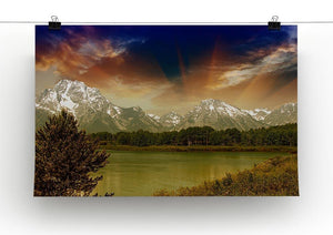 Grand Teton National Park Canvas Print or Poster - Canvas Art Rocks - 2
