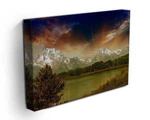 Grand Teton National Park Canvas Print or Poster - Canvas Art Rocks - 3