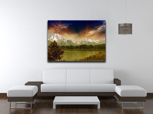 Grand Teton National Park Canvas Print or Poster - Canvas Art Rocks - 4