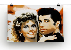Grease Print - Canvas Art Rocks - 2